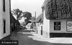 Hazell's Lane c.1950, Shrivenham