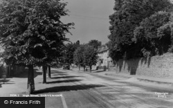 High Street c.1950, Shrivenham