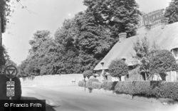 Longcott Road c.1955, Shrivenham