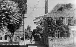 Manor Lane c.1950, Shrivenham