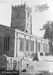 St Andrew's Church c.1955, Shrivenham