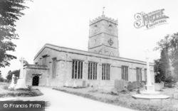 St Andrew's Church c.1965, Shrivenham
