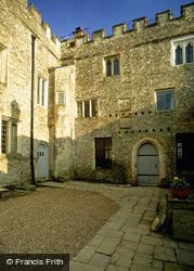 Courtyard Of Shute Barton c.1990, Shute