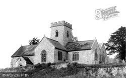St Michael's Church c.1955, Shute