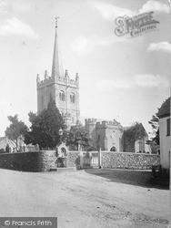 Sidbury, Church Of St Giles c.1890