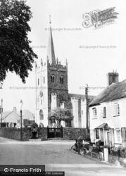 Sidbury, St Giles' Church c.1955