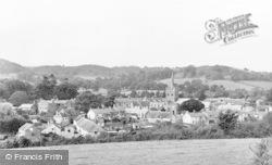 Sidbury, The Village c.1955