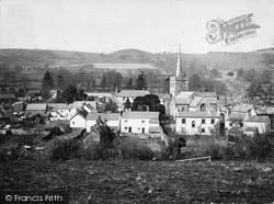 Sidbury, Village And Church Of St Giles c.1890