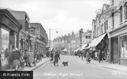 High Street c.1955, Sidcup