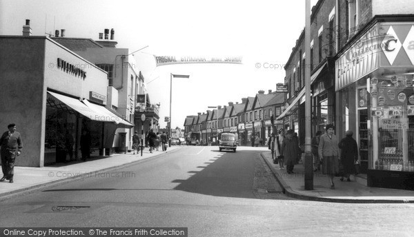 Photo of Sidcup, High Street c.1965