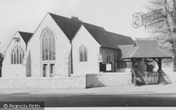 Holy Trinity Church c.1955, Sidcup
