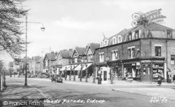 Longlands Parade c.1955, Sidcup