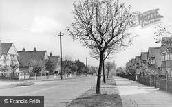 Marlborough Park Avenue c.1955, Sidcup