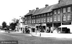 Station Road c.1955, Sidcup