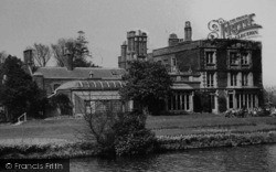 The College, Lamorbey Glade c.1955, Sidcup