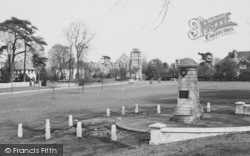 The Green And Memorial c.1960, Sidcup