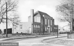 The Public Library c.1955, Sidcup