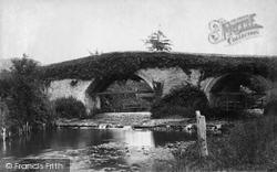 Sidford, Bridge c.1874