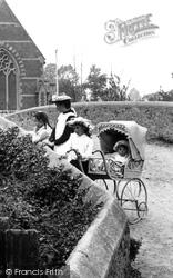 Sidford, Children On The Bridge 1906