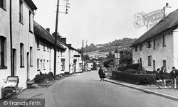 Church Street c.1955, Sidford