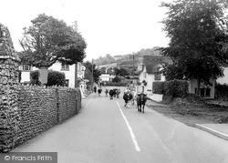 Sidford, Church Street c.1955