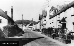 Church Street c.1960, Sidford