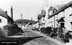 Sidford, Church Street c.1960
