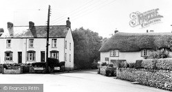 Exeter And Sidmouth Roads c.1955, Sidford