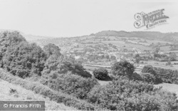 General View c.1955, Sidford