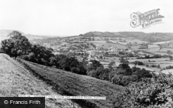 General View From Seaton Road c.1955, Sidford