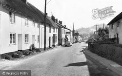 Sidford, High Street c.1955