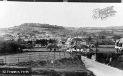 Sidford, Steven's Cross c.1955