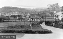 View From Steven's Cross c.1955, Sidford
