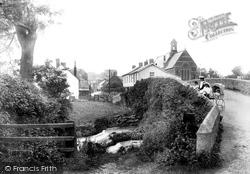 Sidford, Village 1906
