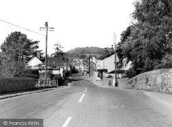 Village From The Bridge c.1960, Sidford