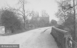 Sidlow, Bridge And Emmanuel Church 1896