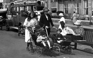 Sidmouth, A Family Outing 1924