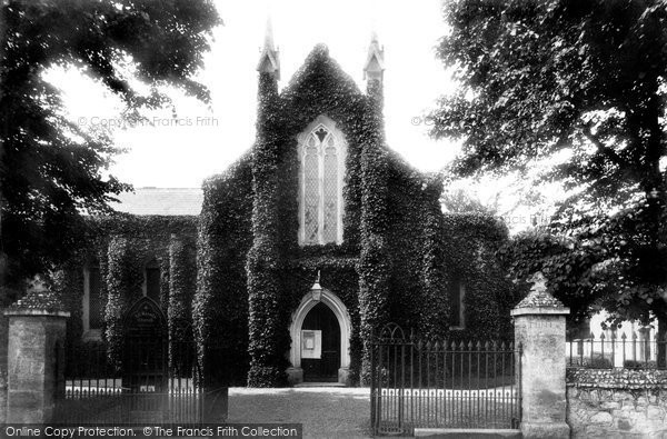 Photo of Sidmouth, All Saints' Church 1906