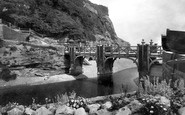 Sidmouth, Alma Bridge 1931