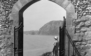 Sidmouth, Arch In Connaught Gardens 1934