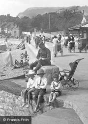 Boys At The Seaside 1918, Sidmouth