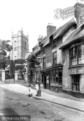 Sidmouth, Church Street 1906