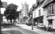 Sidmouth, Church Street 1924