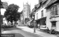 Sidmouth, Church Street 1924