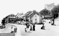 Sidmouth, Esplanade 1904
