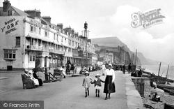 Sidmouth, Esplanade 1918