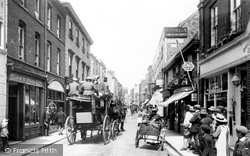 Sidmouth, Fore Street 1904