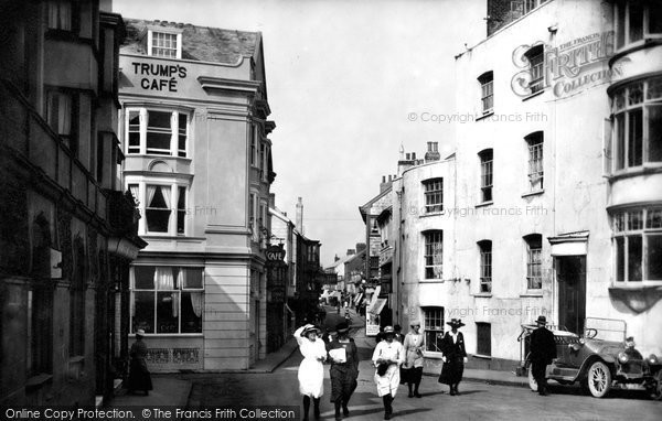 Photo of Sidmouth, Fore Street 1918