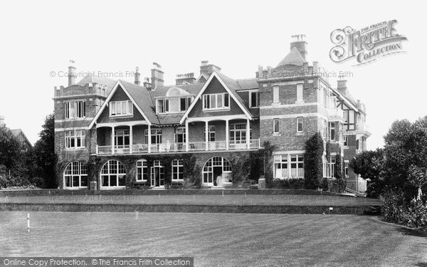 Photo of Sidmouth, Fortfield Hotel 1907
