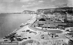 Sidmouth, From Salcombe Hill 1931